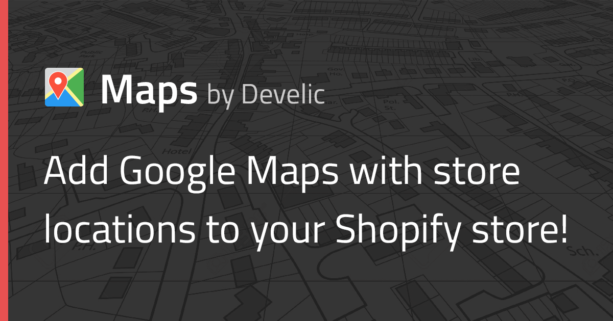 Maps by Develic